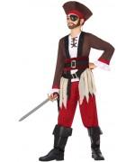 Déguisement garçon pirate des caraïbes - costume pirates
