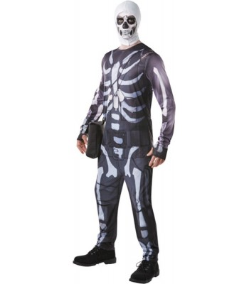 Déguisement Fortnite Skull Trooper adulte