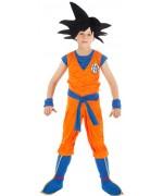 Déguisement Goku Dragon Ball Z pour enfant sous licence officielle dbz