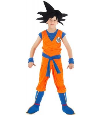 Déguisement Goku Saiyan Dragon Ball Z enfant