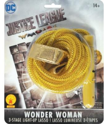 Lasso Wonder Woman lumineux