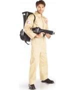 Déguisement Ghostbusters™ pour adulte avec combinaison et arme gonflable - SOS Fantômes