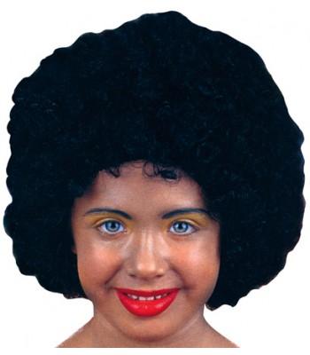 Perruque afro noire enfant