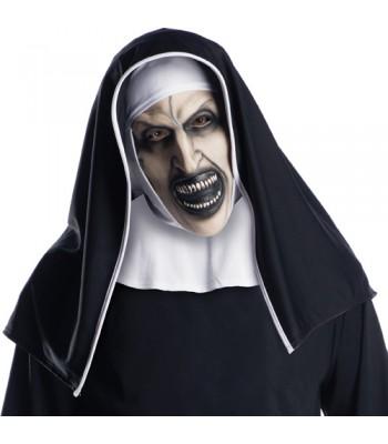Masque La Nonne avec coiffe adulte
