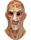 Masque de Freddy Krueger sous licence officielle, un masque intégral en latex pour incarner le célèbre tueur en série