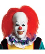 Masque Ça intégral en latex, le masque officiel du célèbre clown tueur du film d'horreur