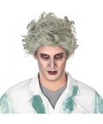 Perruque de zombie pour homme, idéal pour accessoiriser votre déguisement de mort-vivant pour Halloween