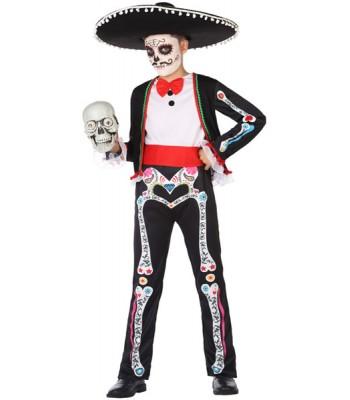 Déguisement seigneur mexicain garçon