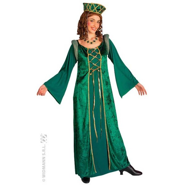 b5fa2b97dff Déguisement princesse médiévale verte - la magie du déguisement ...