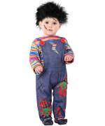 Déguisement Chucky pour bébé de 6 mois à 36 mois, transformez bébé en un véritable personnage de film d'horreur