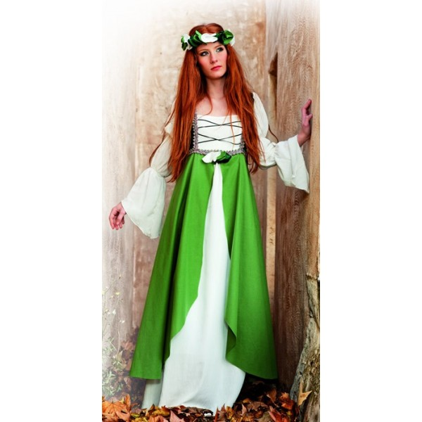Deguisement femme robe blanche