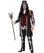 déguisement de sorcier vaudou pour homme avec haut et pantalon