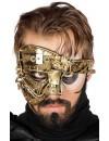Demi masque Steampunk or