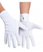 Paire de gants blancs luxe pour homme, matière extensible existe aussi en taille XL