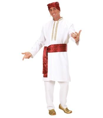 Déguisement Hindou blanc homme