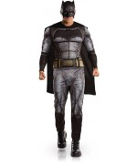 Déguisement de Batman Justice League pour adulte avec combinaison, masque et cape - Dc Comics Costume