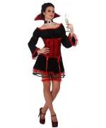 déguisement halloween vampire pour femme WA148S