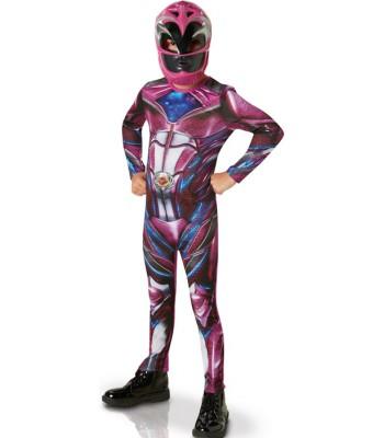 Déguisement Power Rangers rose fille