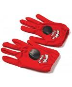 Paire de gants Ladybug Miraculous pour fille taille unique