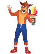Déguisement de Crash Bandicoot pour adulte sous licence officielle