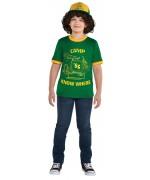 Déguisement Dustin Stranger Things pour garçon de 8 à 16 ans - Série TV Netflix
