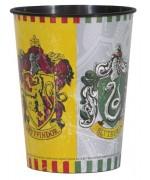 Gobelet Harry Potter en plastique 473ml gryffondor, serpentard - anniversaire Harry Potter