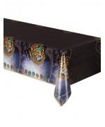 Nappe Harry Potter en plastique d'environ 1,37 x 2,13 m, décorez vos tables aux couleurs des maisons de Harry Potter