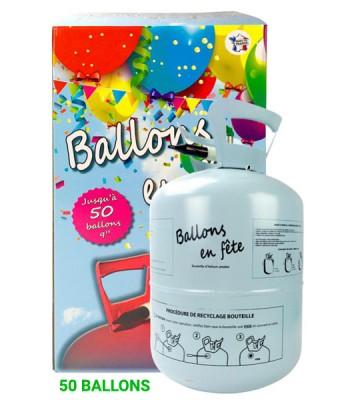 Bouteille d'hélium 50 ballons (0,42m3)