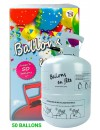 Bonbonne d'hélium (0,42m3), une bouteille conçue pour gonfler à l'hélium 50 ballons de 23 cm de diamètre