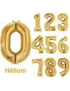Grand ballon chiffre or