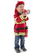 Déguisement chef des pompiers garçon 3 à 6 ans