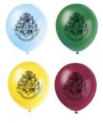 8 Ballons Harry Potter en latex d'environ 30 cm gonflage à l'air ou à l'hélium