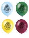 8 Ballons Harry Potter latex 30 cm