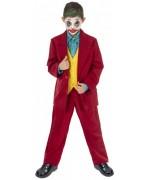 Déguisement de Joker rouge pour garçon digne d'Arthur Fleck du film Joker