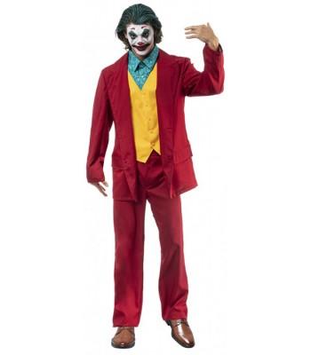 Déguisement Joker fou rouge adulte