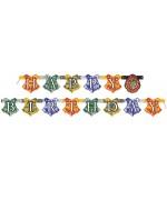 """Guirlande Harry Potter """"Happy Birthday"""", une bannière en carton idéale pour réaliser sa décoration d'anniversaire Harry Potter"""