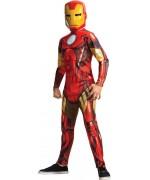 Déguisement Iron Man pour garçon, un costume Marvel qui fera le bonheur des enfants de 3 à 8 ans