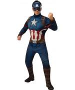 Déguisement de Captain America pour homme, incarnez ce héros Marvel dans sa version Avengers Endgame