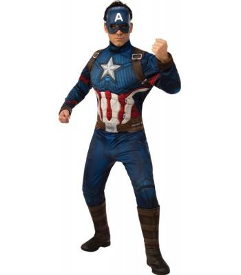 Déguisement Captain America luxe adulte Endgame