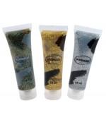 Tube de maquillage avec paillettes - 3 coloris disponibles : doré, argenté et multicolore