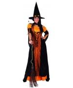Déguisement sorcière orange pour adulte WA145SO