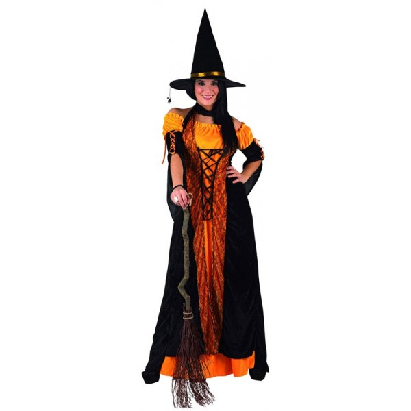 D guisement sorci re pour adulte la magie du d guisement - Deguisement halloween adulte ...