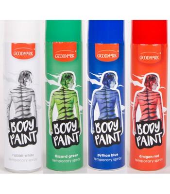 Maquillage en spray pour le corps