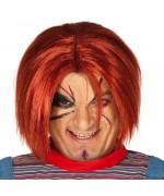 Perruque de poupée tueuse idéale pour compléter votre maquillage de Chucky la poupée qui tue