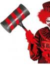 Marteau de clown tueur d'environ 79 cm, incarnez un clown tout droit sorti d'un film d'horreur
