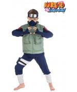 Déguisement de Kakashi pour garçon, un costume Naruto sous licence officielle Naruto Shippuden