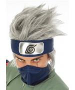 Perruque de Kakashi Hatake, le célèbre héros du manga Naruto Shippuden