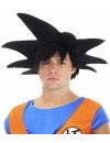 Perruque Dragon Ball Z Sangoku noir adulte