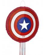 Pinata Marvel, réalisez une décoration d'anniversaire Marvel en suspendant cette pinata bouclier Captain America