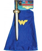Kit épée + cape Wonder Woman fille